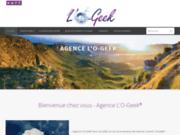 screenshot https://www.agence-logeek.fr Agence L'O-Geek