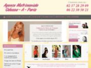 screenshot http://www.agence-matrimoniale-paris.fr agence matrimoniale paris - odessa à paris