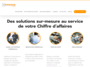 screenshot http://www.agencearmada.com agence armada: externalisation commerciale