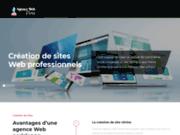 screenshot http://www.agenceweb-paris.fr/ agence web paris, le blog de l'actualité du web.