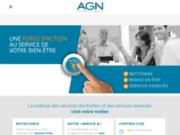 screenshot http://www.agn.fr/ Nettoyage de bureaux à Paris