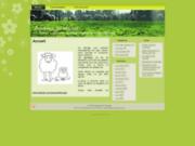 screenshot http://www.agneauxdubocage.com/ viande d'agneau, vente directe dans la manche