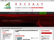 screenshot http://www.agri02.com/index.php maison de l'agriculture de l'aisne