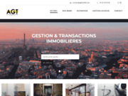 screenshot http://www.agtbastille.com location et vente de biens immobiliers à paris 75