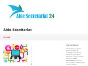 screenshot http://www.aide-secretariat24.com/ Télésecrétariat