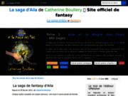 screenshot http://aila.fr/ Découvrez la saga de fantasy d'Aila, par Catherine Boullery