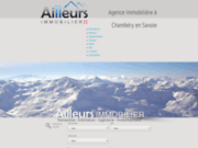 Ailleurs immobilier : agence immobilière chambéry