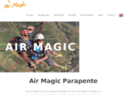 screenshot http://www.air-magic-parapente.com air magic parapente millau