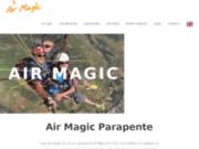 screenshot http://www.air-magic-parapente.com air magic parapente millau