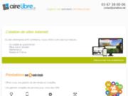 screenshot http://www.airelibre.fr aire libre : création de site internet nancy, toul