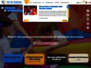 Air et Volume, Fabricant de Structures Gonflables : PLV, Jeux, Costumes et Signalétiques Gonflables