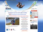 screenshot http://airextrem-parachutisme.com baptême saut en parachute