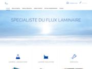 screenshot https://airgen-flux-laminaire.fr/ Flux laminaire