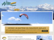 Air Libre - Bapteme biplace parapente aux Gets