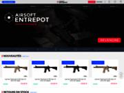 screenshot http://www.airsoft-entrepot.fr/ Airsoft Entrepot