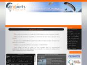 screenshot http://www.airsports-reunion.com airsports réunion : parapente et paramoteur
