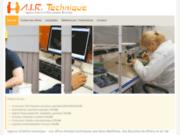 screenshot http://www.airtechnique.fr/ agence interim technique
