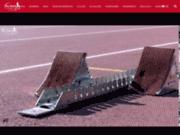 screenshot http://www.aix-athle.com club d'athlétisme à aix en provence bdr 13