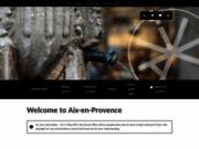 screenshot http://www.aixenprovencetourism.com aix en provence