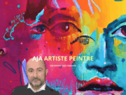 screenshot http://ajapeintre.com aja artiste peintre