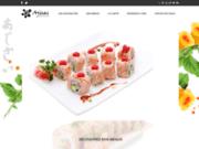 screenshot http://www.ajisai.fr restaurant japonais ajisai