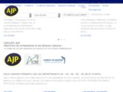 screenshot http://www.ajp-immobilier-gironde.com ajp immobilier pessac : agence immobilière