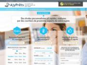 screenshot http://www.ajyprets.fr immobilier