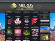screenshot http://www.akkros.com site de l'association des akkros