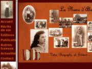 screenshot http://www.alaplumedalain.fr ecrivain biogaphe et éditeur