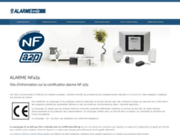Certification alarme nfa2p
