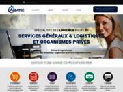 screenshot http://www.albatec.fr albatec : logiciels pour services généraux