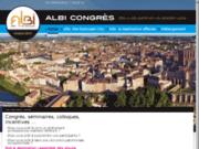 screenshot http://www.albi-congres.com office de tourisme d'albi : service séminaires