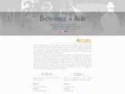 screenshot http://www.albi-gite.fr gîte - albi - tarn
