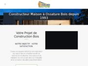 screenshot http://www.alenconmaisonbois.com Maisons Bois