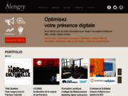 screenshot http://www.alengryconcept.com marketing web