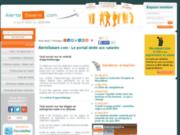 screenshot http://www.alertesalaire.com/ alertesalaire, portail en droit du travail
