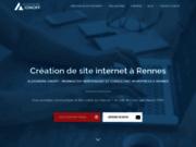 screenshot http://www.alexionoff.fr Création de site internet à Rennes