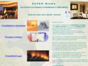 screenshot http://www.alfanglobe.com/ climatisations reversibles et pompe a chaleur