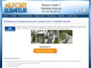 screenshot http://www.alfortelevateur.com/ Alfort Élévateur