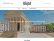 screenshot http://www.alinea-traductions-juridiques.fr Cabinet de traduction juridique anglais, traducteur juridique