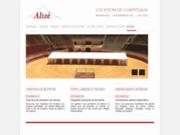 screenshot http://www.alizereception.com alize reception