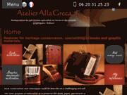 Restauration de livres à Nanterre (92) - Alla Greca