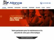 screenshot http://www.allance.fr allance - securite informatique, antivirus, antispam, sauvegarde