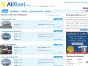 screenshot http://www.allboat.com allboat.com. vente de bateau d'occasion