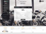 screenshot http://www.allbybike.fr taxi moto parisien