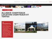 Alliance Chapiteaux Tente de réception à Lyon