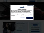 screenshot http://www.allianzbanque.fr credit, epargne, placement avec allianz banque