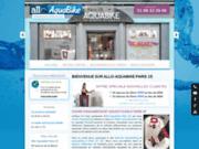 screenshot http://www.allo-aquabike-paris15.fr aquabike à Paris 15