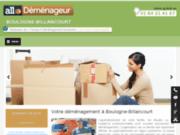 screenshot http://www.allo-demenageur-boulogne.fr/ déménagement à Boulogne-Billancourt