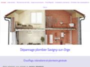 screenshot http://www.allo-plombier-savignysurorge.fr/ plombier à Savigny-sur-Orge